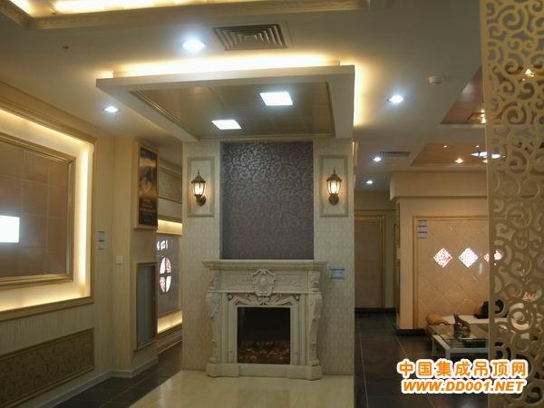 集成吊顶专卖店店面装修装饰设计要素及基本要求