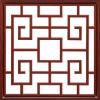 GF474LED-1H红木纹