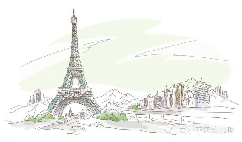 风暴手绘建筑手绘系列