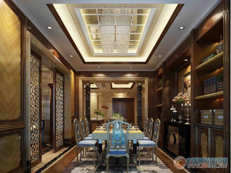 家带来5款欧式风格的餐厅设计