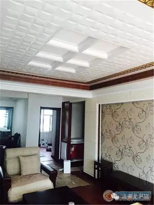 法狮龙品尚系列客厅安装效果赏析-中国集成吊顶网