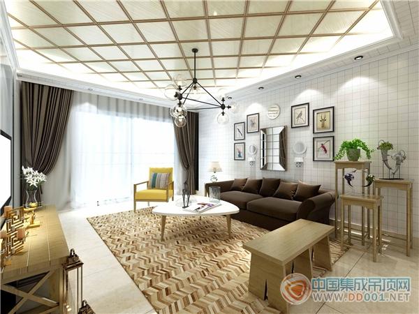 君澜大生活空间 温馨舒适的木质客厅顶