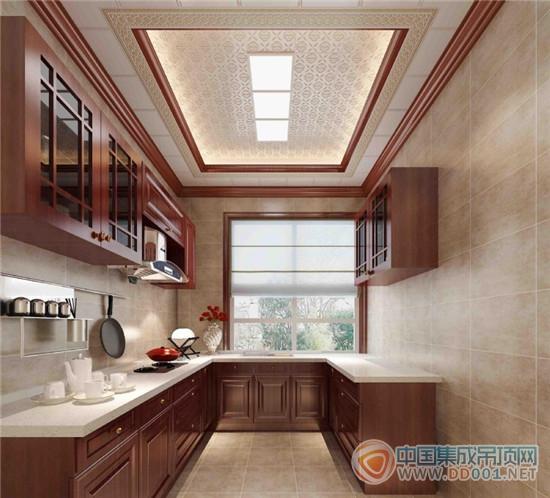 爱尔菲:厨房里的风景,顶部设计有讲究-中国集成吊顶