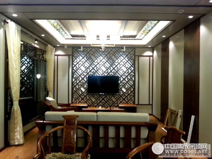 鼎美居室吊顶苏州店装修实景图