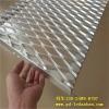 供应2.0厚白色铝网板菱形孔