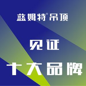 Hi新十年!见证十大品牌——蓝姆特吊顶