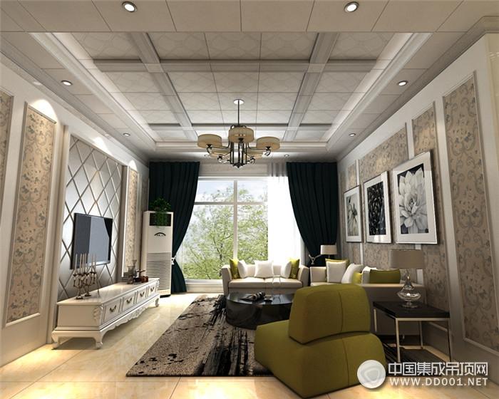 德莱宝欧式客厅吊顶总有一款适合你