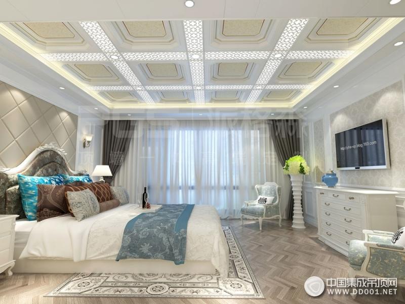 派格森全屋吊顶卧室系列装修效果图