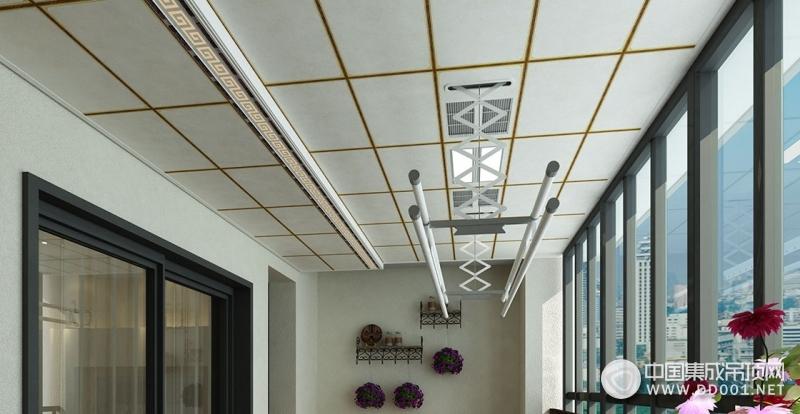 保丽卡莱吊顶新中式风格产品装修效果图