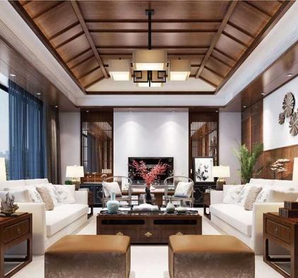 欧之杰吊顶家装系列之客厅效果图分享