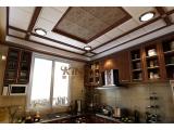 今顶复古集成吊顶-美式厨房