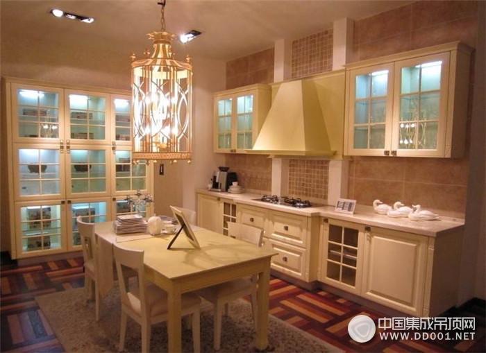 小编客厅:厨房集成吊顶如何维护保养
