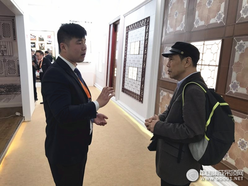 北京建博会:克兰斯携新品打造顶墙盛宴—展会现场