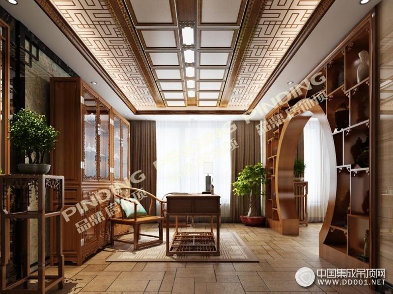 品鼎居饰顶中国风装修效果图