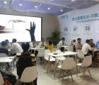 广州建博会:超级大板+3D背景墙,蓝姆特大放异彩—展会现场