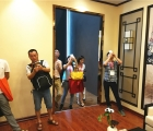 广州建博会:高端全房复式吊顶领导者,索菲尼洛震撼来袭—展会现场