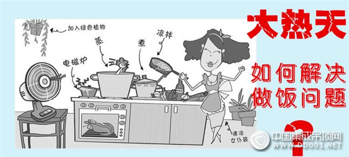 为什么厨房要装凉霸,这个酷暑你该怎么过?