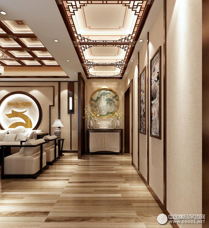 巴迪斯精工顶墙古韵流芳系列产品效果图