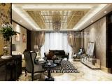 客厅集成吊顶效果图 赛华顶墙精装厂家直销