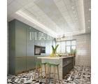 现代欧式厨房装修最新效果图 (2)