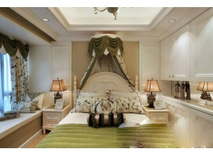 浪漫英式田园三居室 让你一看就爱上的吊顶设计