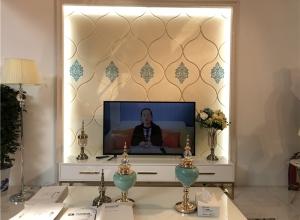 北京建博会:清新女神保丽卡莱完美演绎顶墙装饰—产品赏析