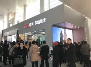 北京建博会:鼎美以创新突围,顶墙集成新品密集发布—展馆赏析