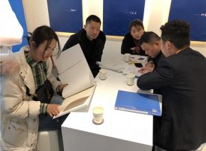 北京建博会:赛华三大风格新品引领家装新潮流—展会现场