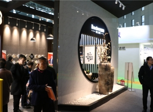 上海建博会:巴迪斯轻奢升级,邀你共赏绿色美学盛宴—展会现场