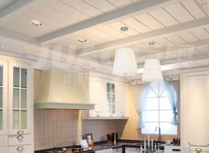 巨奥吊顶厨房装修图 2018现代简约的厨房吊顶
