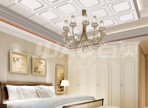 巨奥铝顶墙卧室装修图 简洁卧室吊顶图片