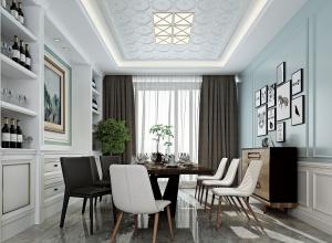 奇力新集成顶墙装修效果图 现代风客厅装修案例