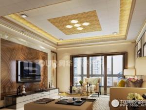 奥华生态吊顶客厅各种风格装修效果图分享