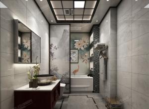 法狮龙新中式厨卫吊顶装修效果图,厨房卫生间效果图