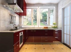 法狮龙为您推荐5款现代风格厨房吊顶效果图