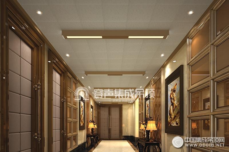 容声集成吊顶新客厅吊顶装修案例,客厅吊顶装修