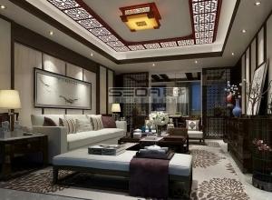 赛华顶墙集成客厅系列装修效果图,客厅吊顶装修案例