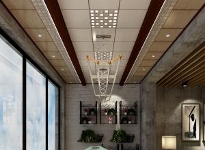 欧美吊顶北美风格阳台吊顶装修效果图