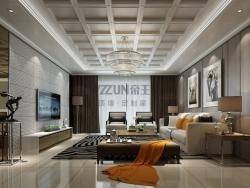 帝王至尊顶墙-现代风格客厅
