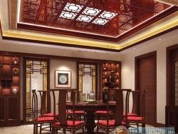 美而雅餐厅吊顶-中式系列