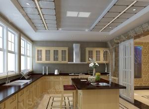 来斯奥全屋吊顶厨房吊顶装修效果图,厨房吊顶装修案例