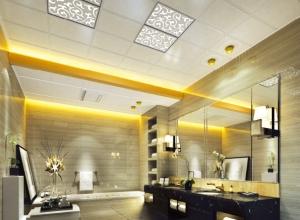 美尔凯特卫浴吊顶装修效果图,卫生间吊顶装修案例