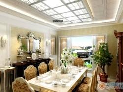 美赫欧式吊顶餐厅系列产品