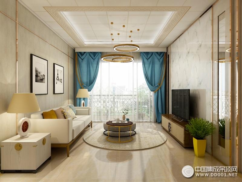 8款现代风格的客厅吊顶装修案例,让您选