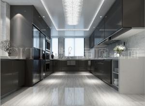 十几款风格厨房集成吊顶装修案例,花旗厨房吊顶装修效果图