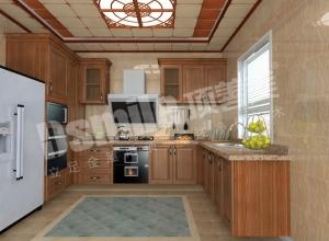 美式风格厨房吊顶装修效果图,顶善美厨房吊顶装修案例