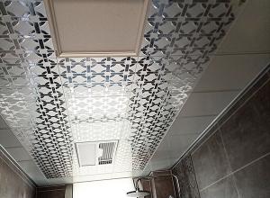 派格森吊顶厨房卫生间吊顶装修实景图