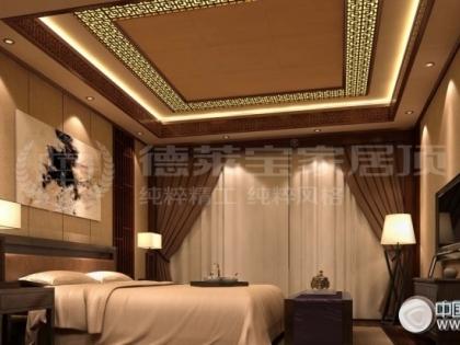 德莱宝吊顶雅致中式-卧室系列