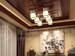 德莱宝吊顶雅致中式餐厅系列