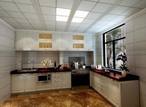 德莱宝打造易清洁的厨房,厨房吊顶安装效果图